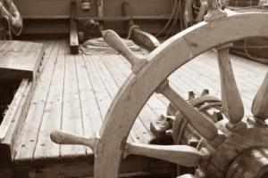 steering wheel for web sepia